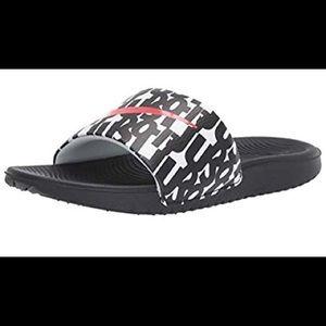 "Nike Girls Kawa Shower Slide ""Just Do It"" Sandals"